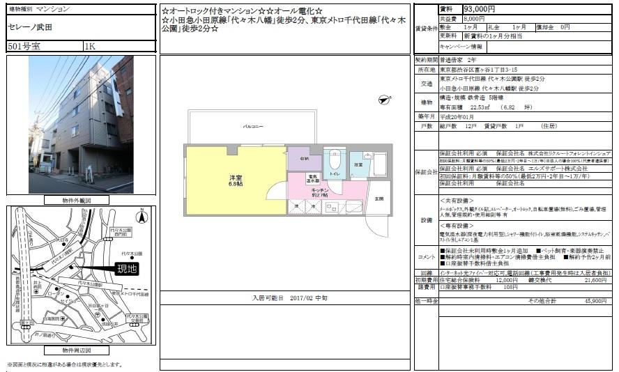 f:id:yoyogiuehararealestate:20170111230615j:plain