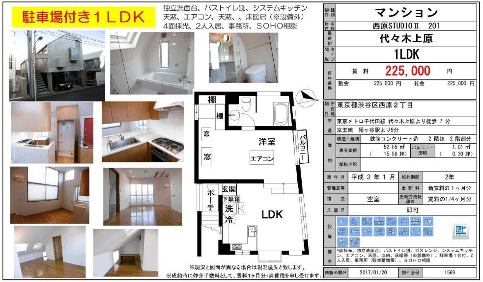 f:id:yoyogiuehararealestate:20170121220002j:plain