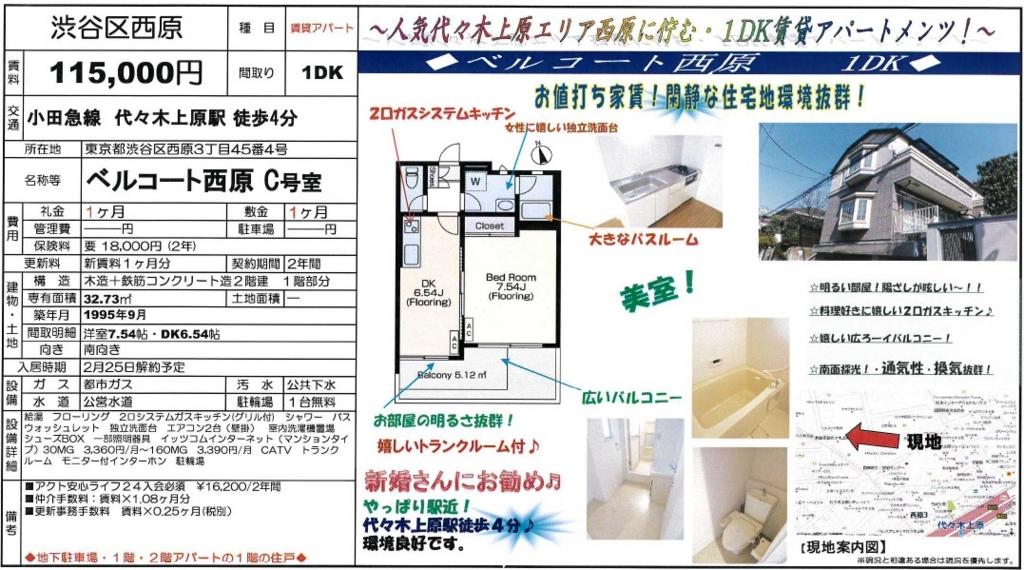 f:id:yoyogiuehararealestate:20170126113343j:plain