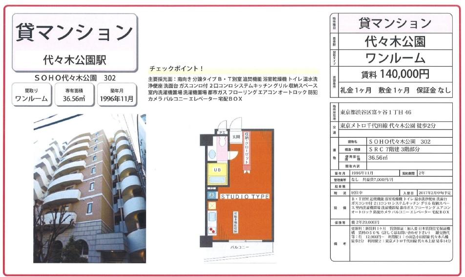 f:id:yoyogiuehararealestate:20170201101120j:plain