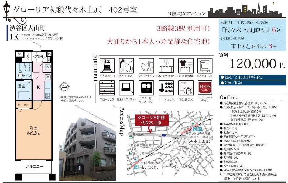 f:id:yoyogiuehararealestate:20170202092145j:plain