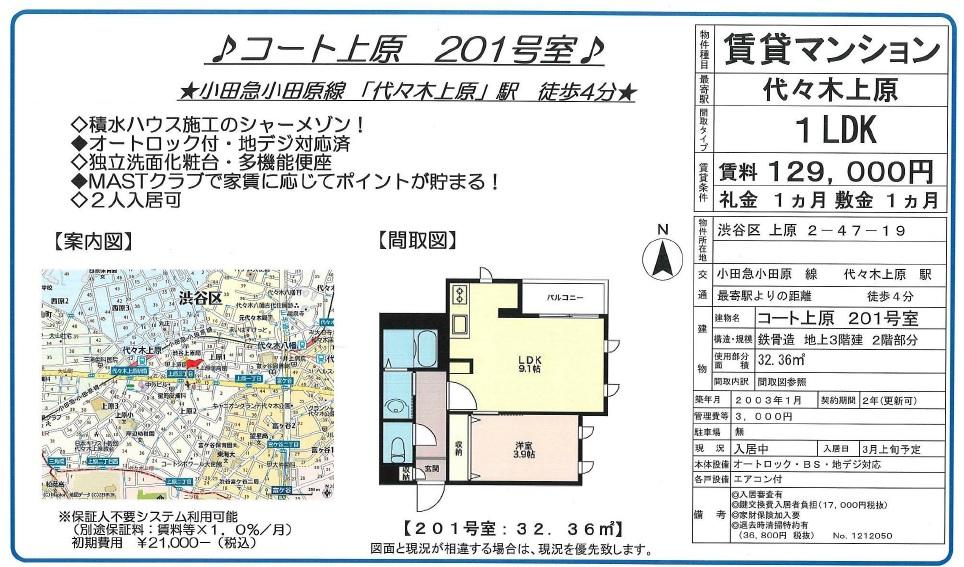 f:id:yoyogiuehararealestate:20170204090831j:plain