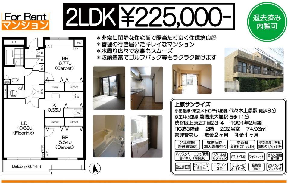 f:id:yoyogiuehararealestate:20170205043024j:plain