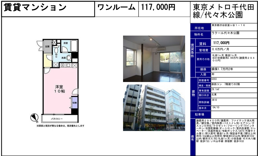 f:id:yoyogiuehararealestate:20170213085534j:plain