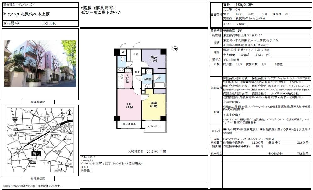 f:id:yoyogiuehararealestate:20170216112840j:plain