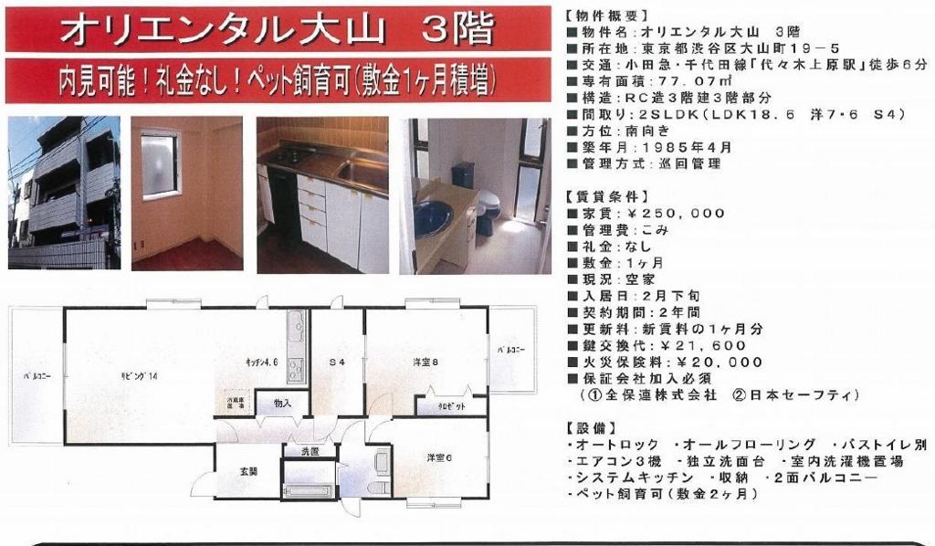f:id:yoyogiuehararealestate:20170218005313j:plain