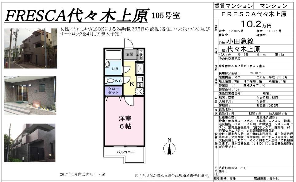 f:id:yoyogiuehararealestate:20170223192334j:plain