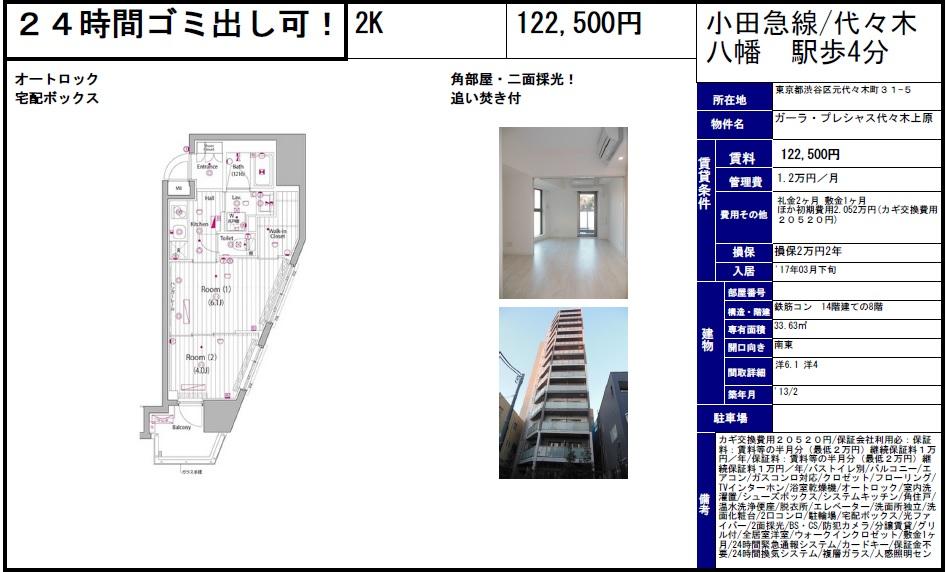 f:id:yoyogiuehararealestate:20170223225739j:plain