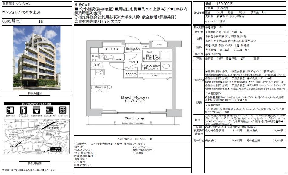 f:id:yoyogiuehararealestate:20170223225754j:plain