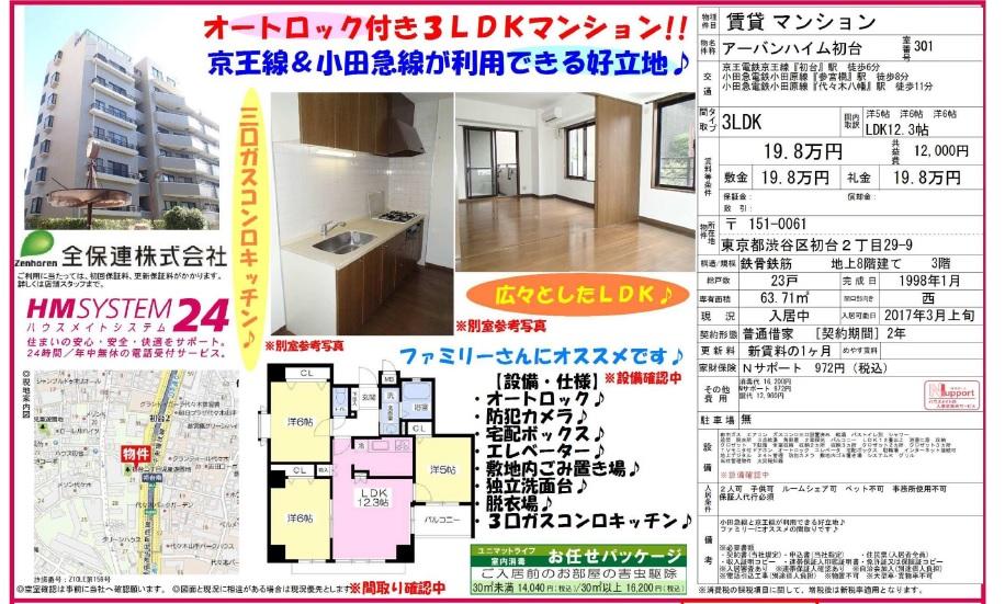 f:id:yoyogiuehararealestate:20170223225831j:plain