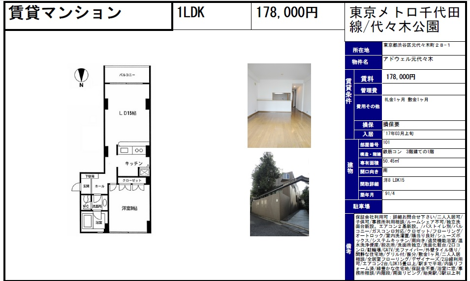 f:id:yoyogiuehararealestate:20170301102418j:plain
