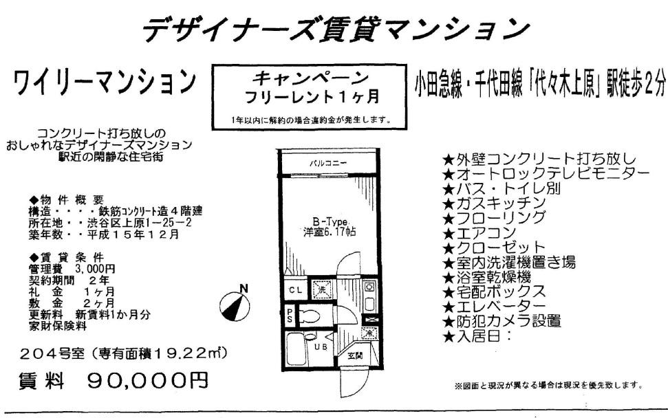 f:id:yoyogiuehararealestate:20170320213253j:plain