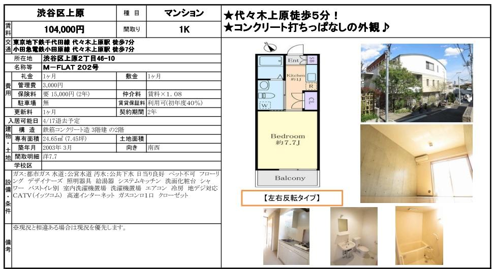 f:id:yoyogiuehararealestate:20170330180420j:plain