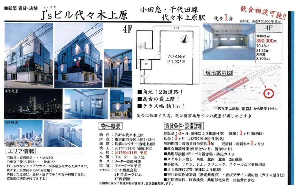 f:id:yoyogiuehararealestate:20170330194443j:plain