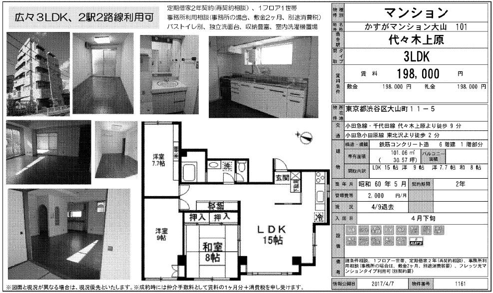 f:id:yoyogiuehararealestate:20170408111145j:plain