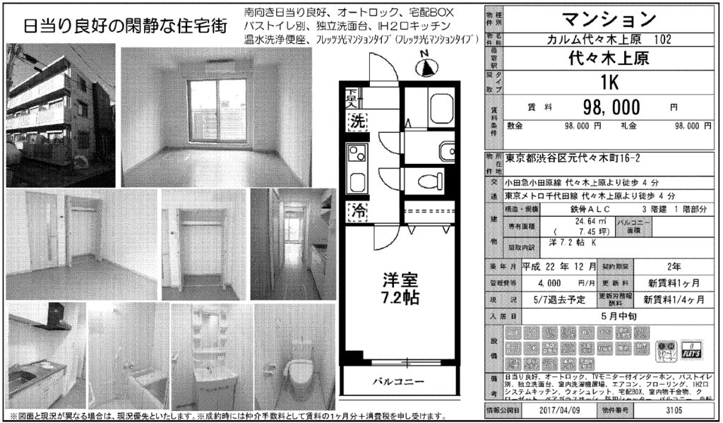 f:id:yoyogiuehararealestate:20170410110620p:plain