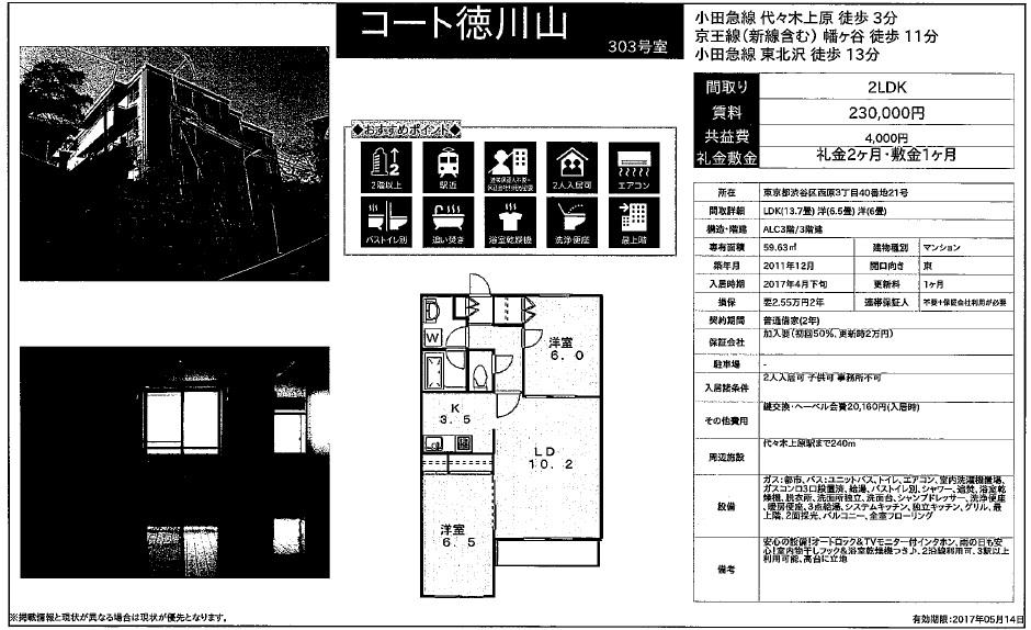 f:id:yoyogiuehararealestate:20170415093712j:plain