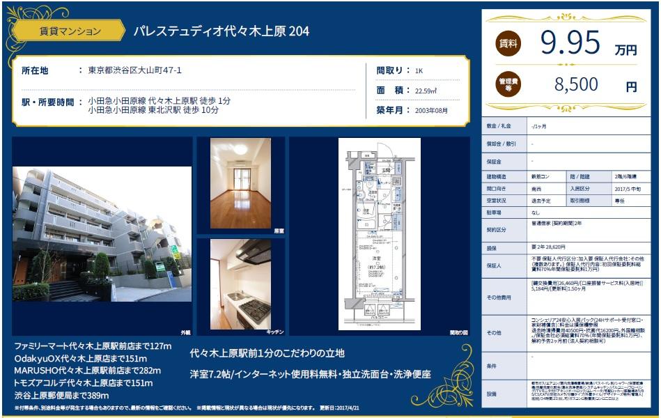 f:id:yoyogiuehararealestate:20170421110629j:plain