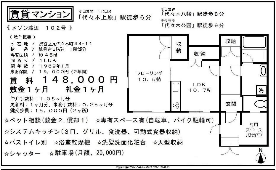 f:id:yoyogiuehararealestate:20170421110727j:plain