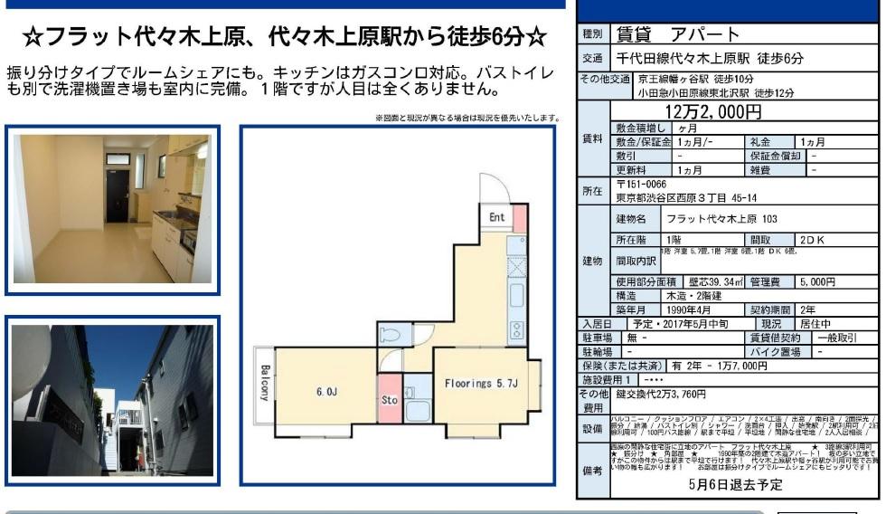 f:id:yoyogiuehararealestate:20170422101647j:plain