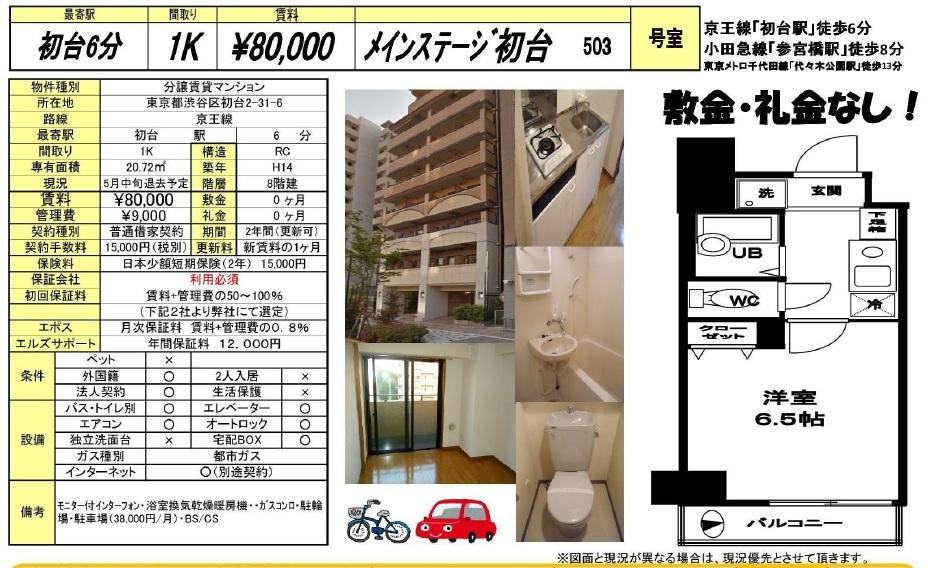 f:id:yoyogiuehararealestate:20170422182016j:plain