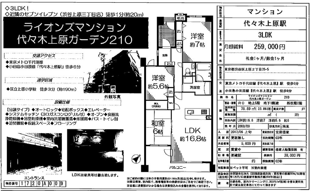 f:id:yoyogiuehararealestate:20170508103824p:plain
