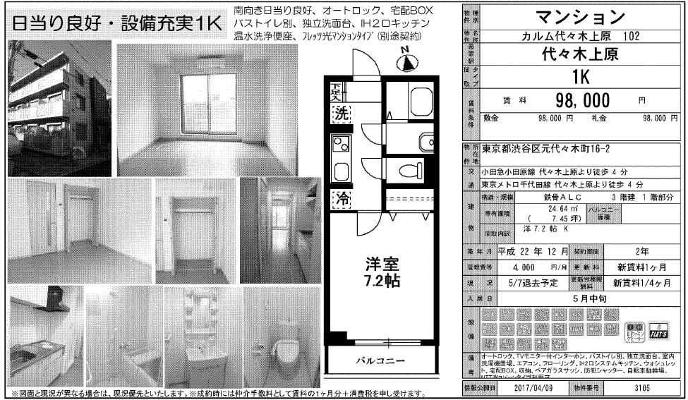 f:id:yoyogiuehararealestate:20170519123941j:plain