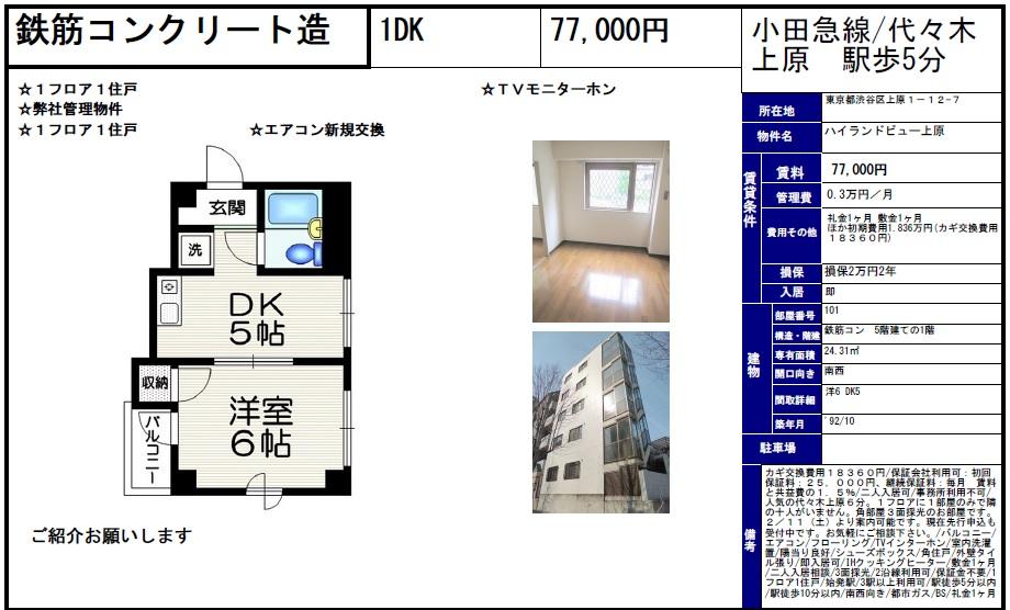 f:id:yoyogiuehararealestate:20170616214609j:plain