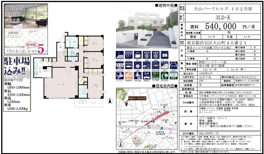 f:id:yoyogiuehararealestate:20170630003305j:plain