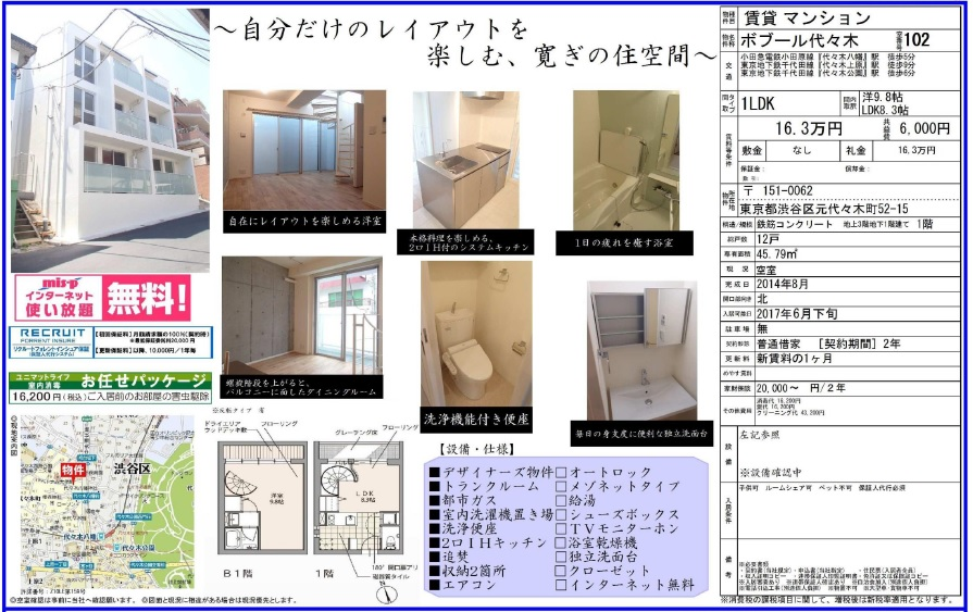 f:id:yoyogiuehararealestate:20170630003317j:plain