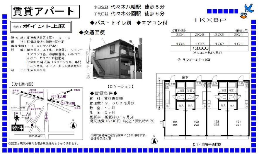 f:id:yoyogiuehararealestate:20170701095922p:plain