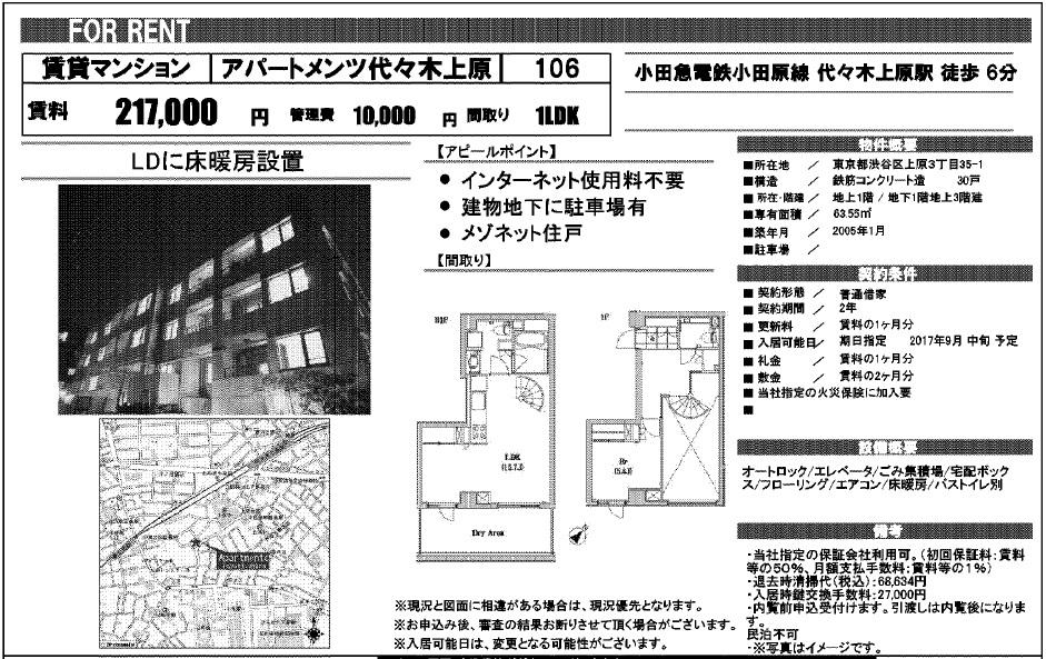 f:id:yoyogiuehararealestate:20170726112736j:plain