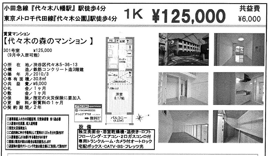 f:id:yoyogiuehararealestate:20170731101424j:plain