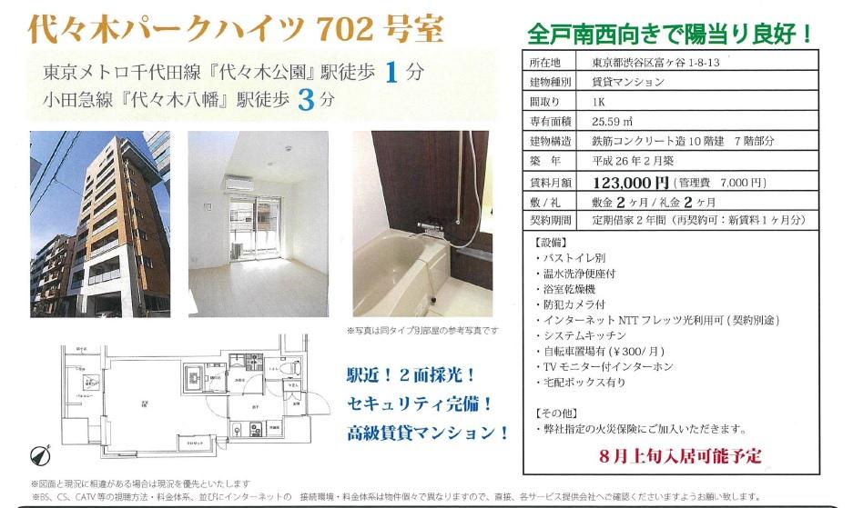 f:id:yoyogiuehararealestate:20170804130644j:plain
