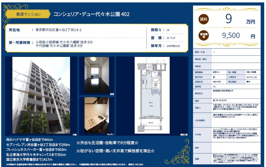f:id:yoyogiuehararealestate:20170810111944j:plain