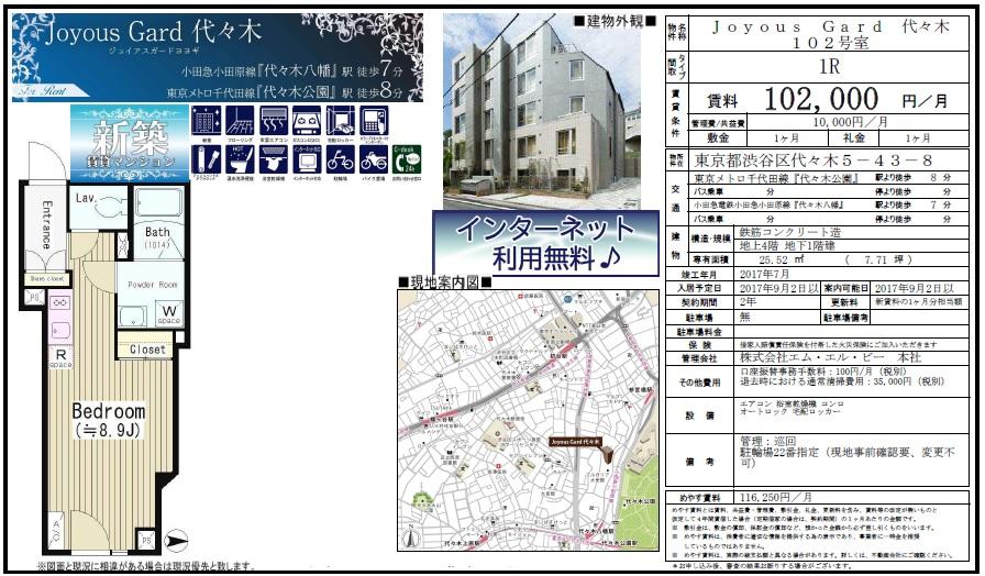 f:id:yoyogiuehararealestate:20170902101929j:plain