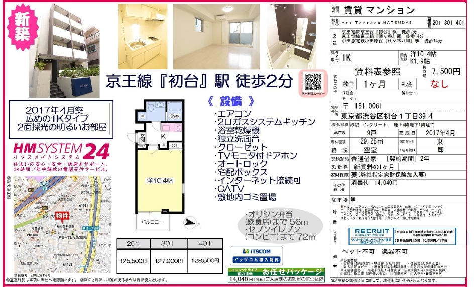 f:id:yoyogiuehararealestate:20170910095311j:plain