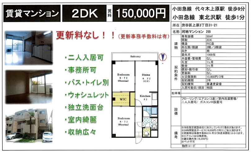 f:id:yoyogiuehararealestate:20170916211218j:plain