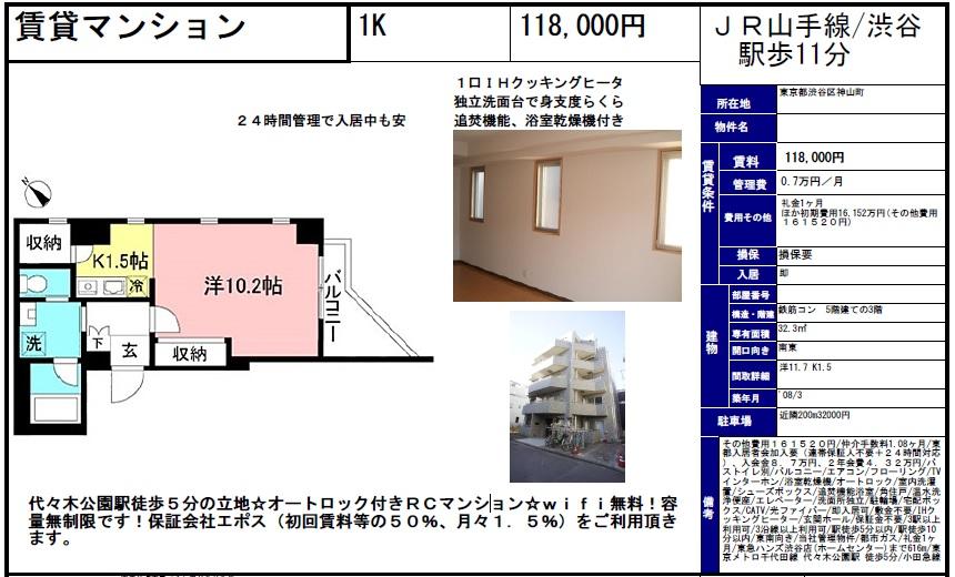 f:id:yoyogiuehararealestate:20170917095052j:plain