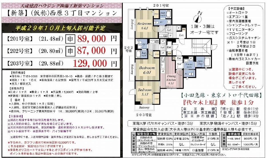 f:id:yoyogiuehararealestate:20170917095203j:plain