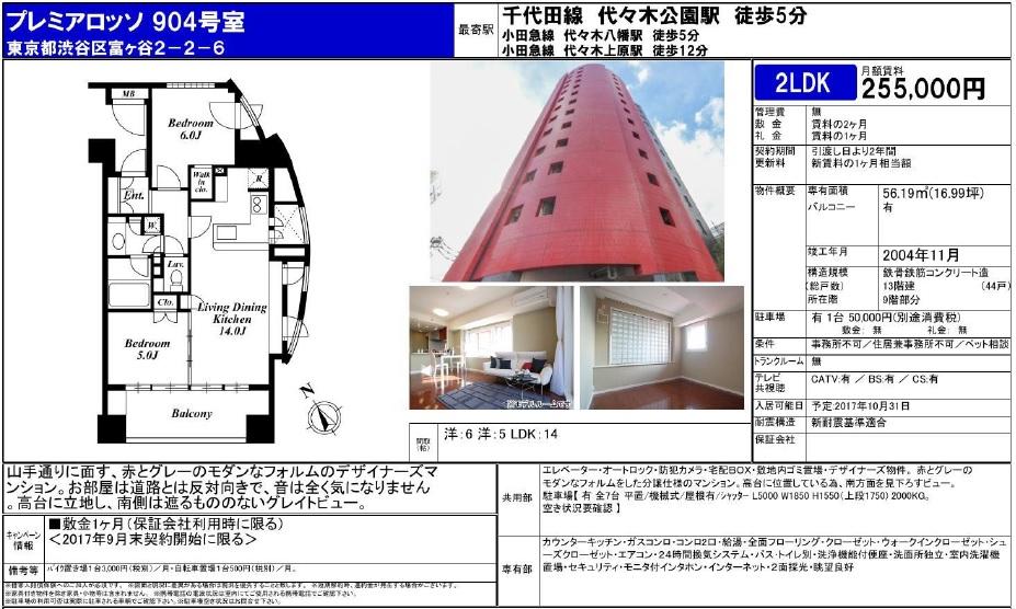 f:id:yoyogiuehararealestate:20170922210506j:plain