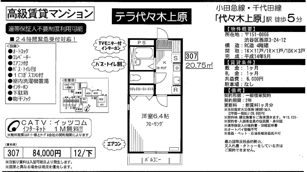 f:id:yoyogiuehararealestate:20171005114058j:plain