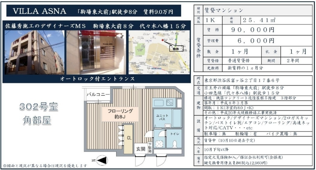f:id:yoyogiuehararealestate:20171006211540j:plain