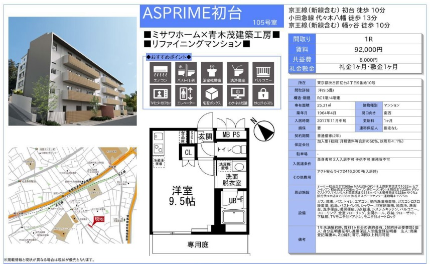 f:id:yoyogiuehararealestate:20171020214457j:plain