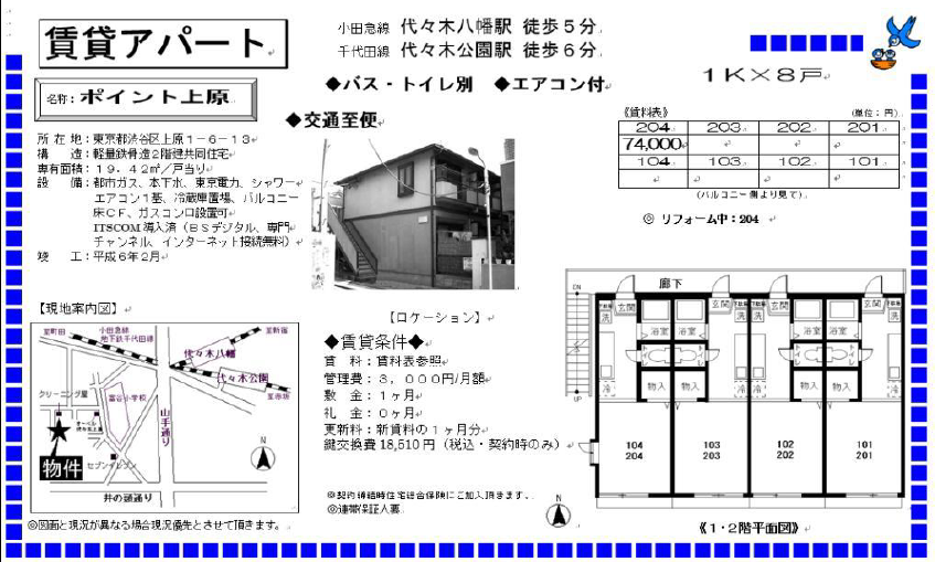 f:id:yoyogiuehararealestate:20171025102043p:plain
