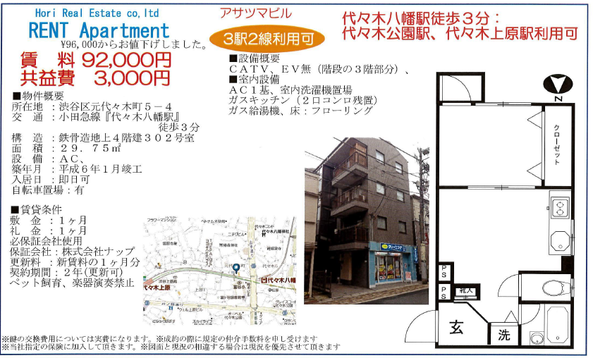 代々木上原 賃貸 人気 物件 1K 1LDK 不動産 代々木公園 渋谷 お部屋 Century21