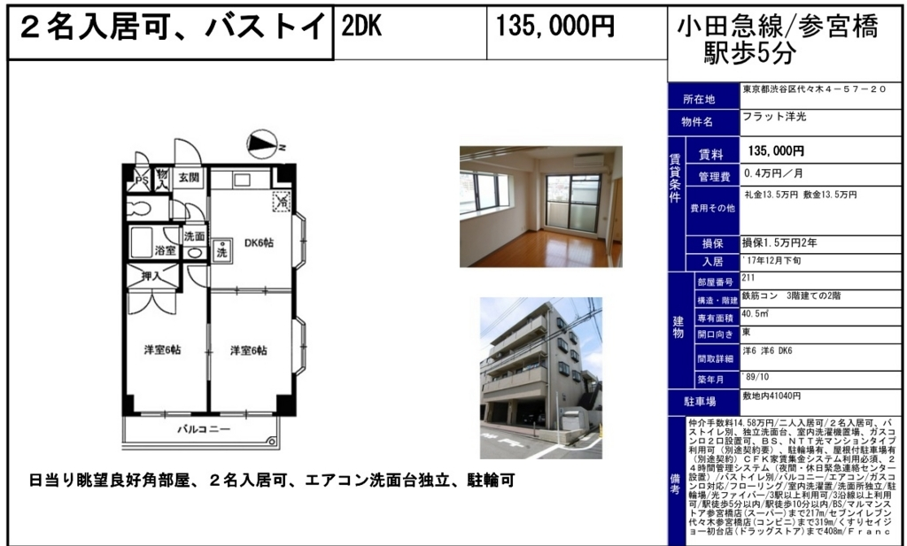 f:id:yoyogiuehararealestate:20171128095108j:plain