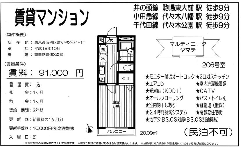 f:id:yoyogiuehararealestate:20180107100543p:plain