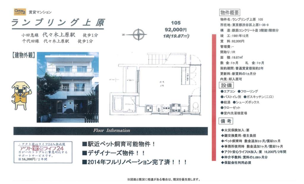 f:id:yoyogiuehararealestate:20180112114040p:plain