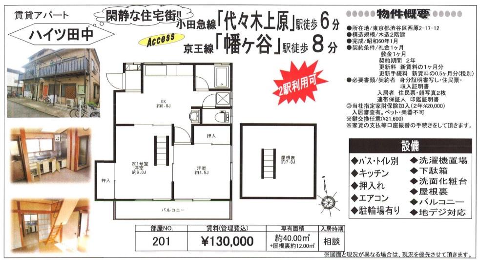 f:id:yoyogiuehararealestate:20180115094612j:plain